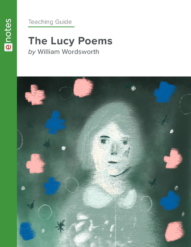 the lucy poems enotes teaching guide preview image 1