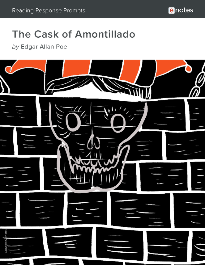 the cask of amontillado enotes reading response prompts preview image 1