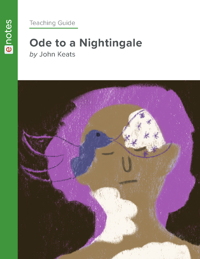 ode to a nightingale teaching guide preview image 1