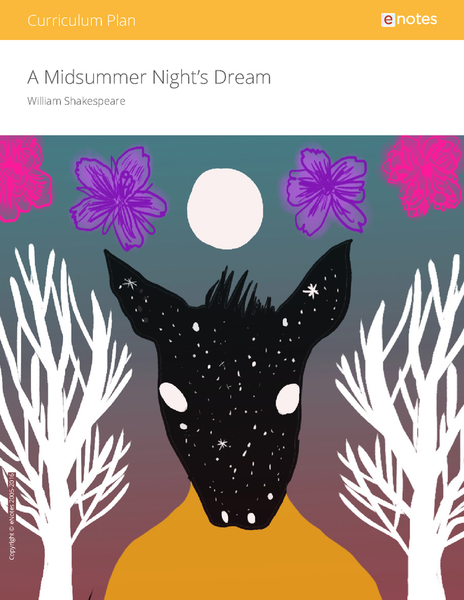 a midsummer night's dream enotes curriculum plan preview image 1