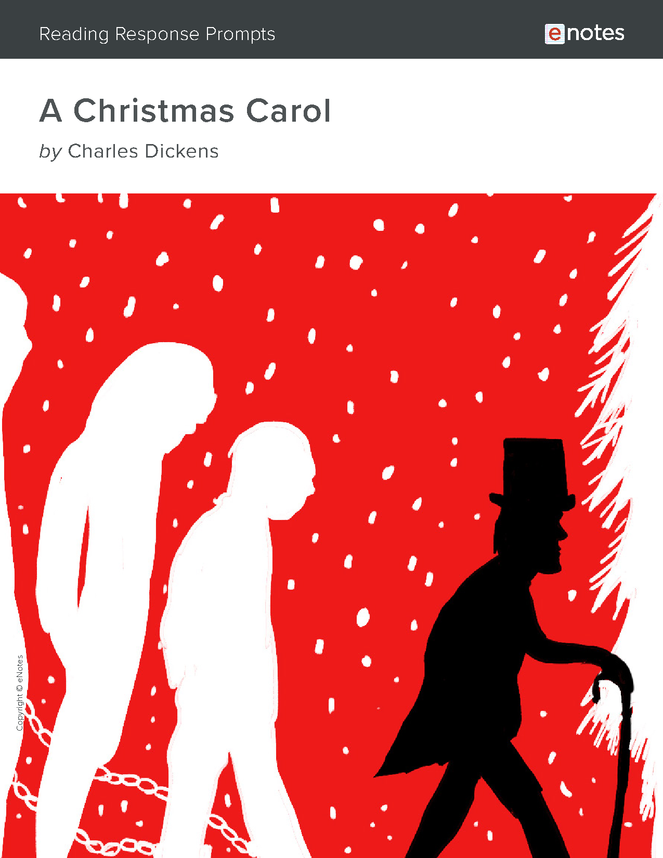 a christmas carol enotes reading response prompts preview image 1