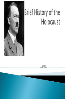 Cover image of Holocaust PowerPoint