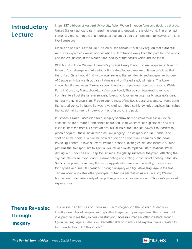 walden themes lesson plan preview image 3
