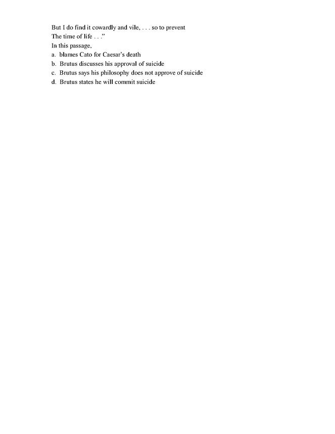 julius caesar test preview image 4