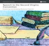 Speech to the Virginia Convention Rhetorical Analysis Activity book cover
