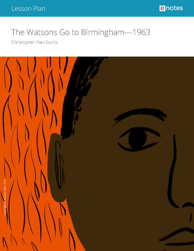 the watsons go to birmingham--1963 enotes lesson plan preview image 1