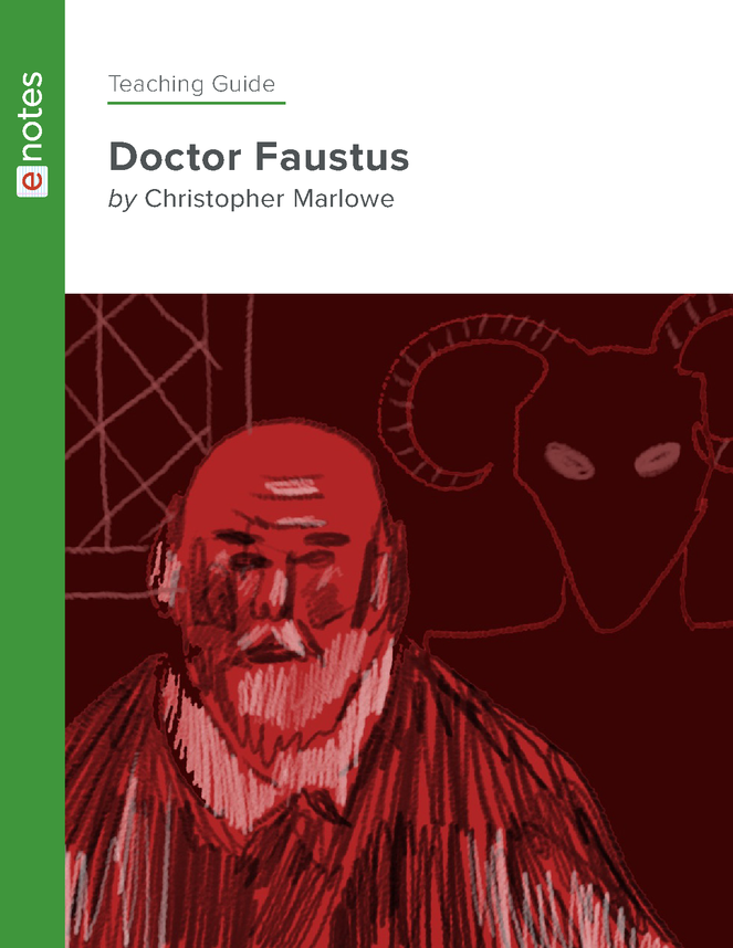 doctor faustus enotes teaching guide preview image 1