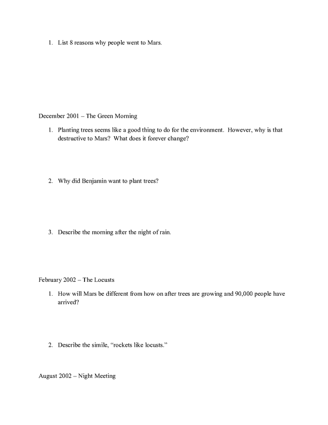 study guide packet preview image 6