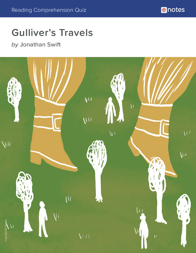 gulliver's travels reading comprehension quiz preview image 1