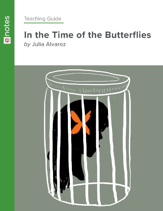 in the time of the butterflies enotes teaching guide preview image 1