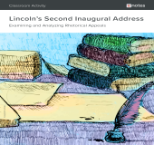 Lincoln's Second Inaugural Address Rhetorical Analysis Activity book cover