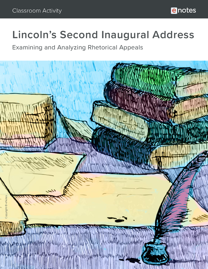 lincoln's second inaugural address rhetorical analysis activity preview image 1