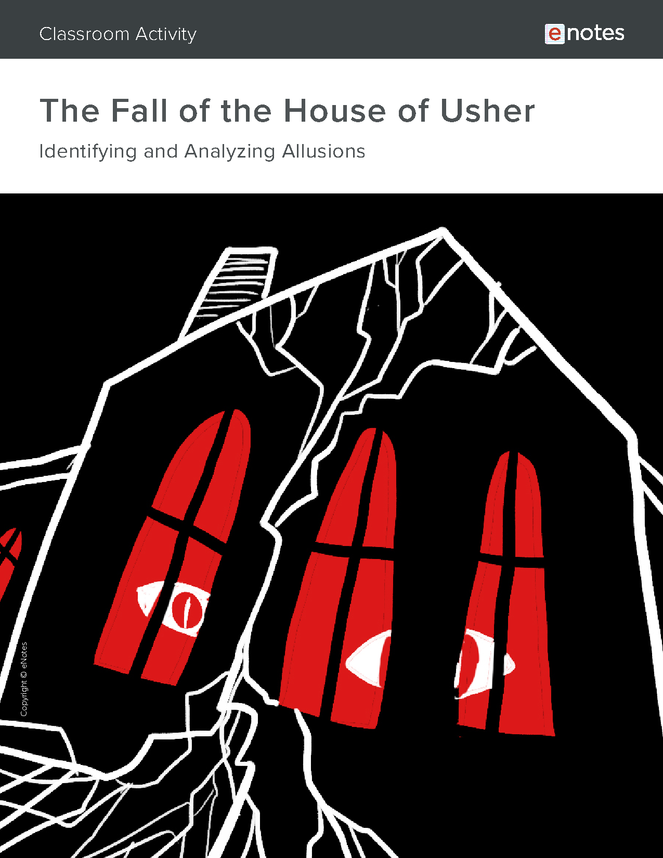 the fall of the house of usher allusion activity preview image 1