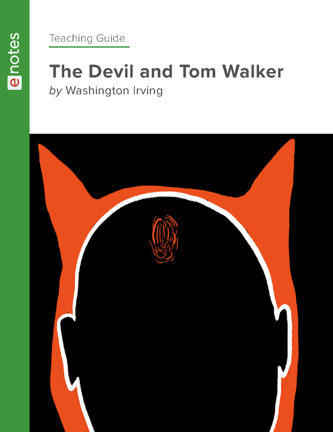 the devil and tom walker enotes teaching guide preview image 1