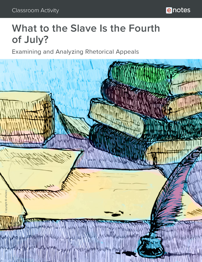 what to the slave is the fourth of july? rhetorical analysis activity preview image 1