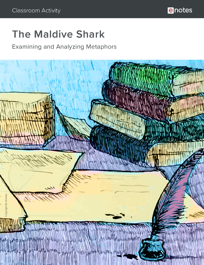 the maldive shark metaphor activity preview image 1
