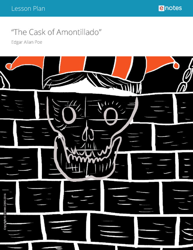 the cask of amontillado enotes lesson plan preview image 1