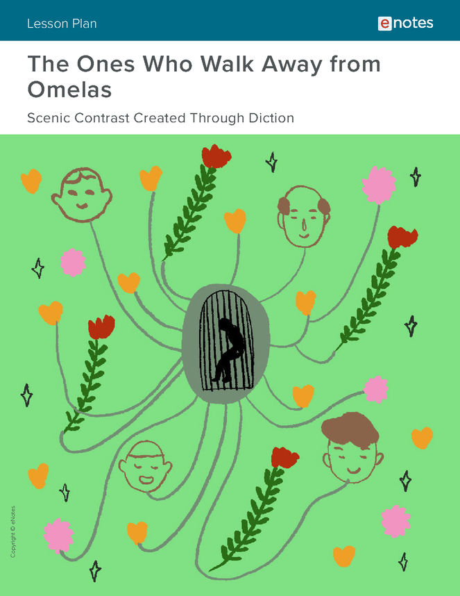 the ones who walk away from omelas literary devices lesson plan preview image 1