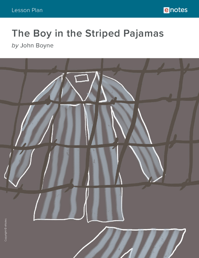 the boy in the striped pajamas enotes lesson plan preview image 1