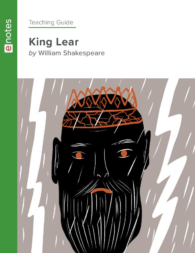 king lear enotes teaching guide preview image 1