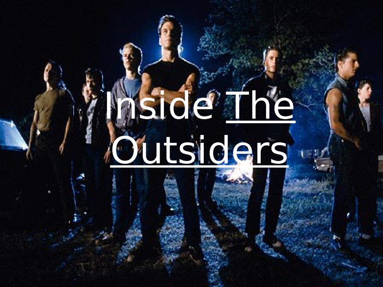 outsiders introduction preview image 1