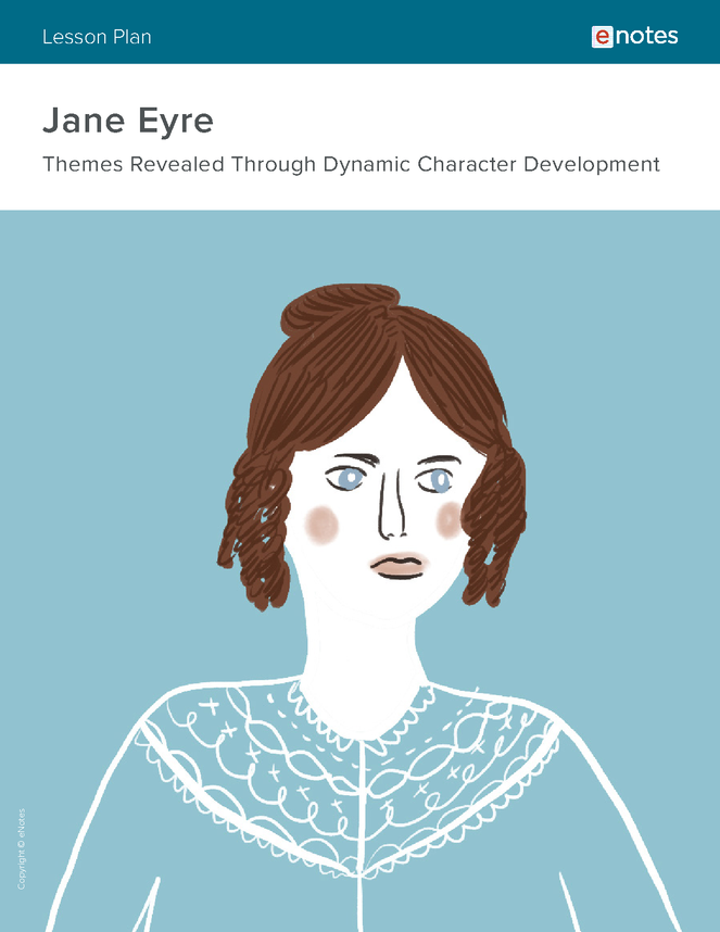 jane eyre character analysis lesson plan preview image 1