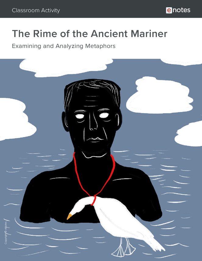 the rime of the ancient mariner metaphor activity preview image 1