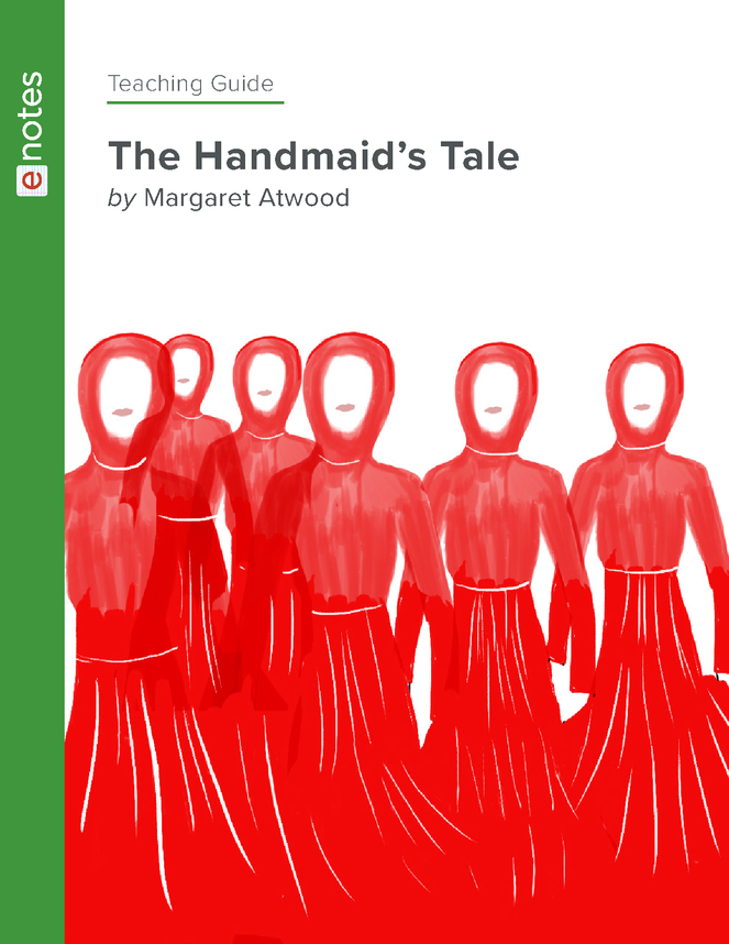 the handmaid's tale enotes teaching guide preview image 1