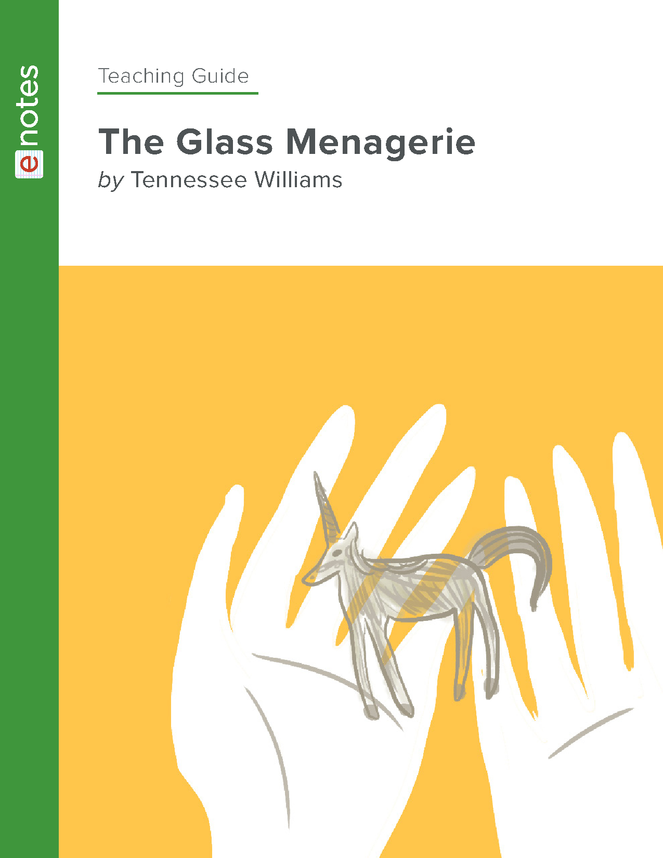 the glass menagerie enotes teaching guide preview image 1