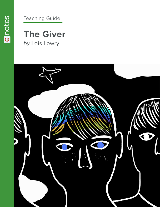 the giver enotes teaching guide preview image 1