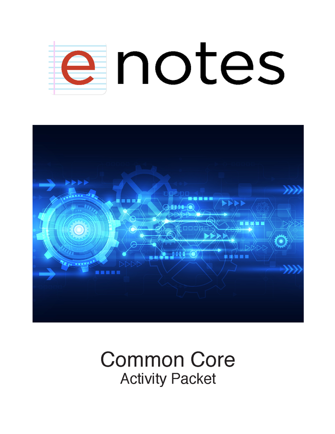 enotes common core activity packet preview image 1