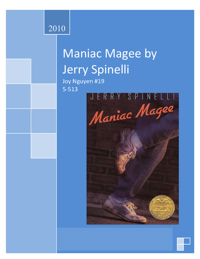 maniac magee preview image 1
