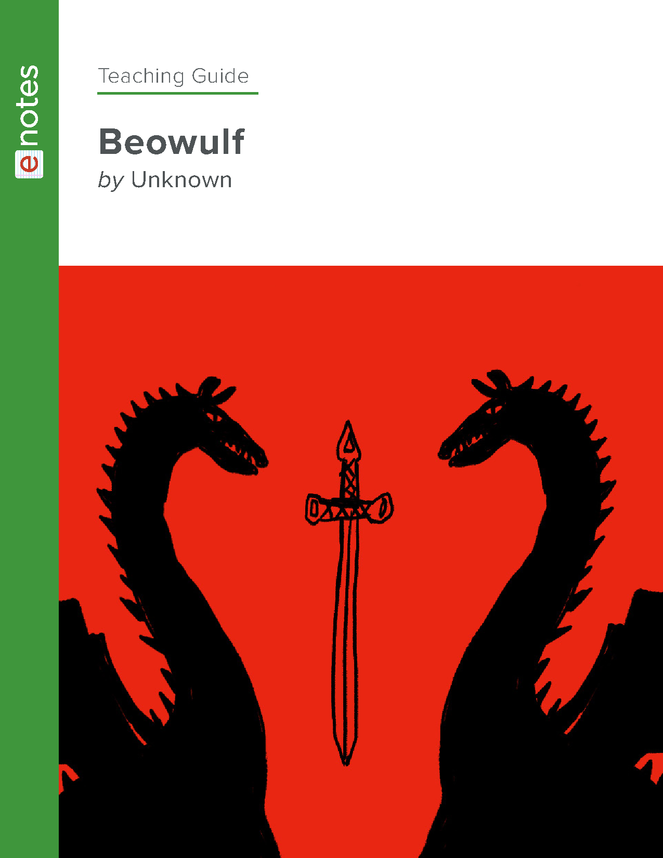 beowulf enotes teaching guide preview image 1