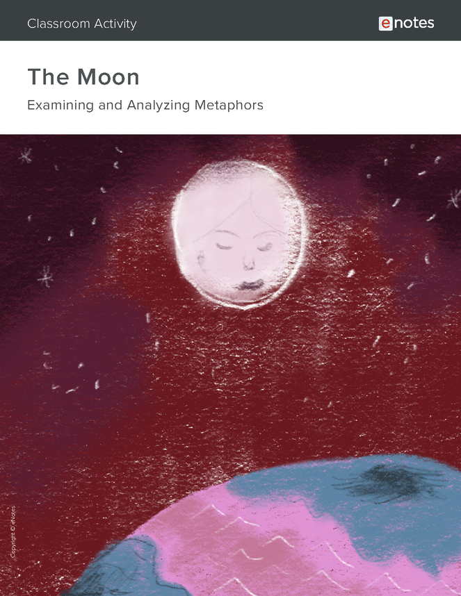the moon metaphor activity preview image 1