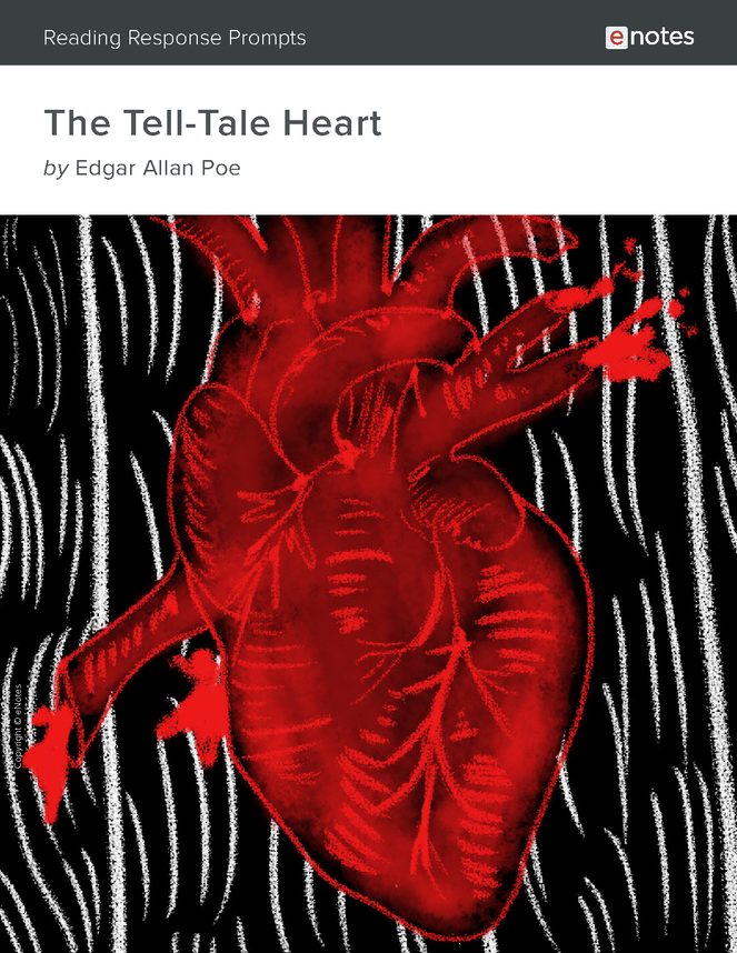 the tell-tale heart enotes reading response prompts preview image 1