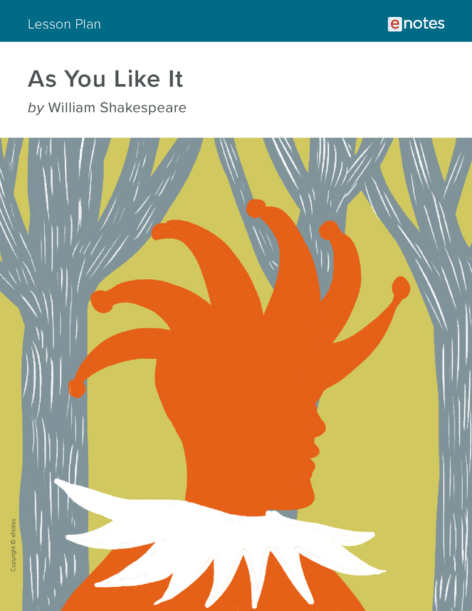 as you like it enotes lesson plan preview image 1