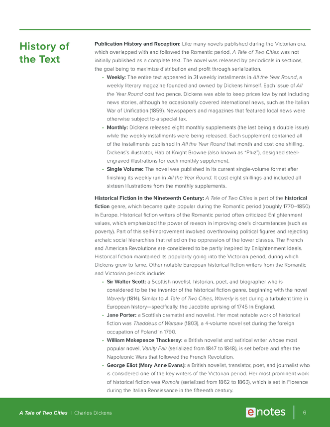 a tale of two cities enotes teaching guide preview image 6