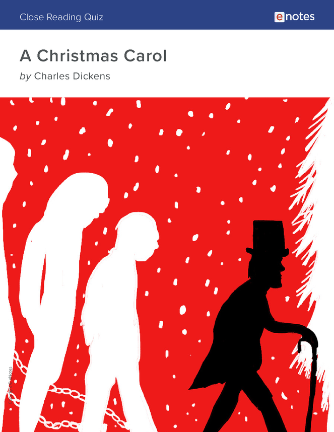 a christmas carol close reading quiz preview image 1