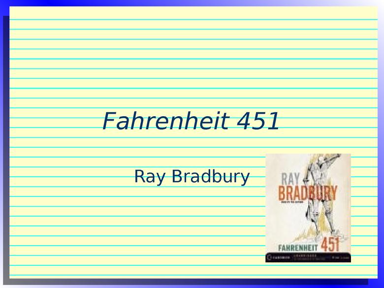 fahrenheit 451 preview image 1