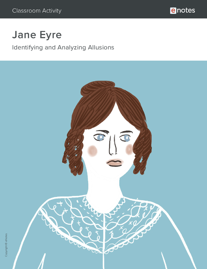 jane eyre allusion activity preview image 1