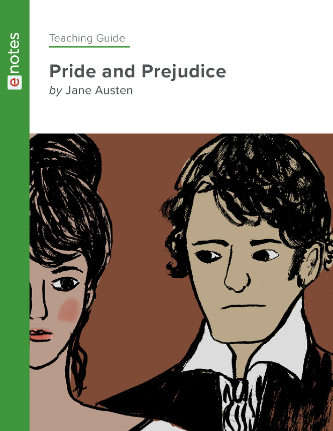 pride and prejudice enotes teaching guide preview image 1