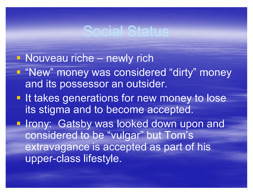 the great gatsby powerpoint preview image 6