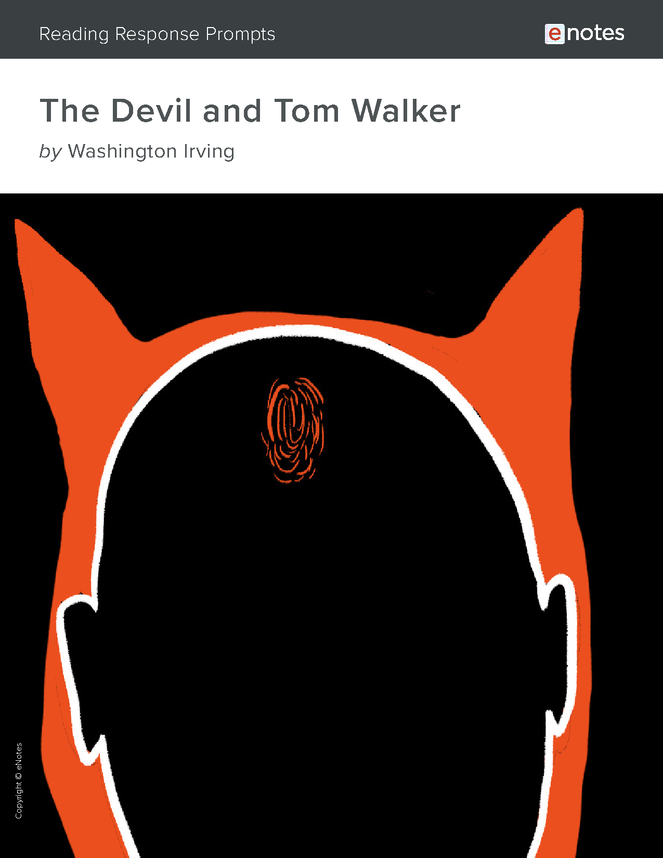 the devil and tom walker enotes reading response prompts preview image 1