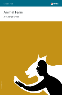 Cover image of Animal Farm eNotes Lesson Plan