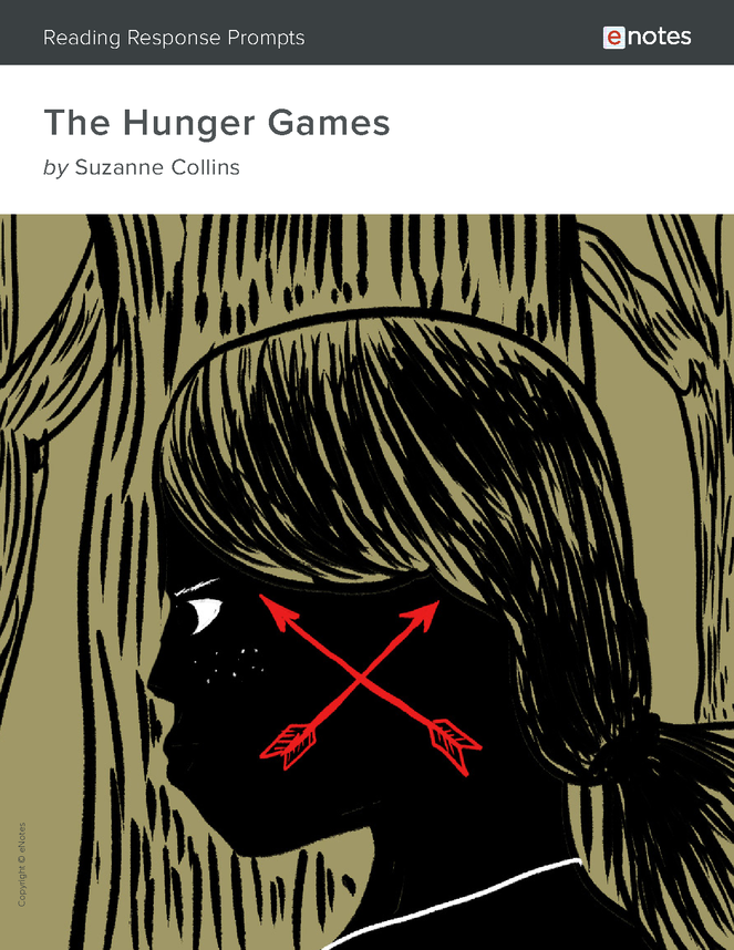 the hunger games enotes reading response prompts preview image 1