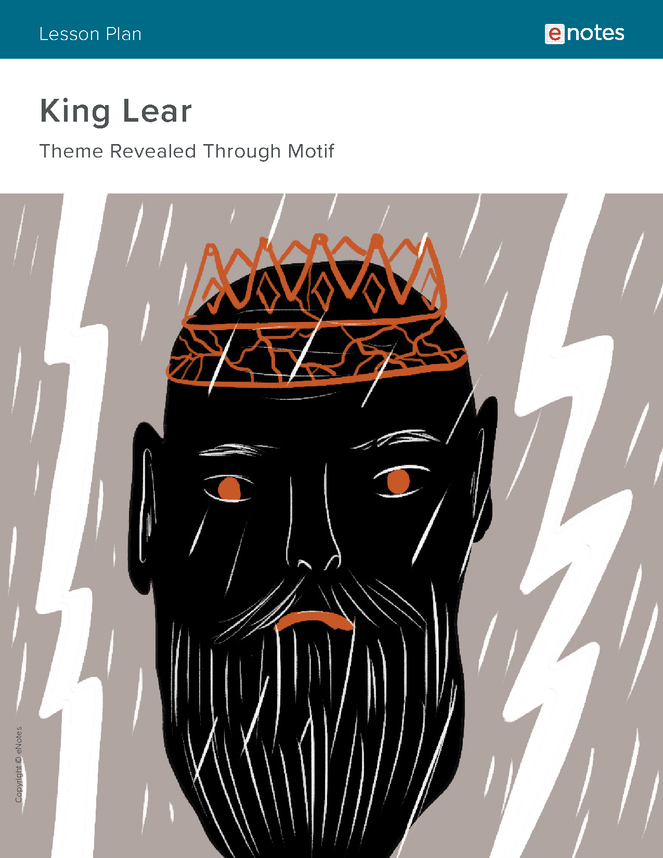 king lear themes lesson plan preview image 1