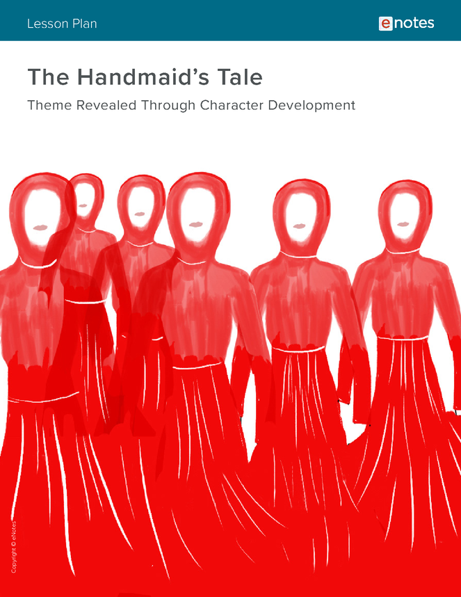 the handmaid's tale character analysis lesson plan preview image 1