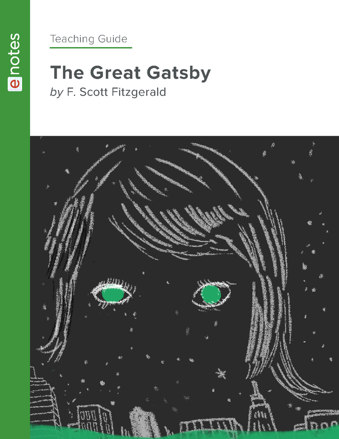 the great gatsby enotes teaching guide preview image 1