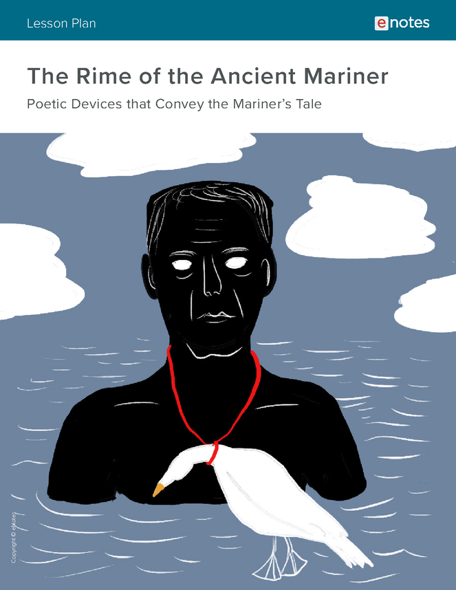 the rime of the ancient mariner literary devices lesson plan preview image 1