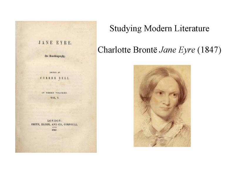 jane eyre by charlotte bronte preview image 1